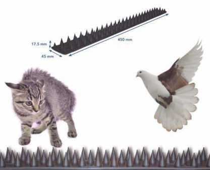 Pinchos contra gatos