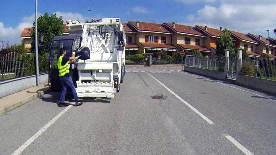 Maquina compatadora residuos